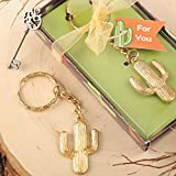90 Gold Metal Cactus Design Key Chains