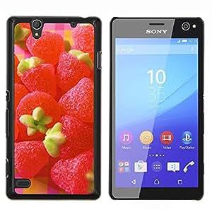 YiPhone /// Prima de resorte delgada de la cubierta del caso de Shell Armor - Naturaleza Hermosa Forrest Verde 44 - Sony Xperia C4