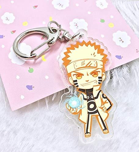 Amazon.com: Naruto Acrylic keychain Kakashi Gaara Sasuke ...