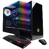 CYBERPOWERPC Gamer Master GMA1394A Gaming PC (AMD Ryzen 7 2700 3.2GHz, 16GB DDR4, NVIDIA GeForce RTX 2070 8GB, 240GB SSD, 2TB HDD, 802.11AC WiFi, Win 10 Home)