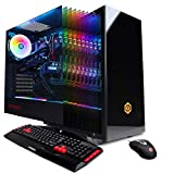 CYBERPOWERPC Gamer Master GMA1394A Gaming PC (Liquid Cooled AMD Ryzen 7 2700 3.2GHz, 16GB DDR4, NVIDIA GeForce RTX 2070 8GB, 240GB SSD,...