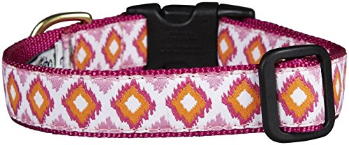 - Up Country Pink Crush Dog Collar - Medium