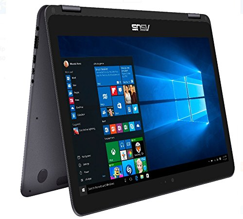2017 Newest ASUS Zenbook Flip 2-in-1 Touchscreen Laptop,7th Gen Intel Core m3-7Y30 2.60 GHz, 8 GB RAM, 256GB Solid State Drive, 802.11ac,Bluetooth 4.1, Windows 10, Gray