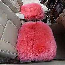 Luxurious long wool sheepskin car seat covers Chair Pad carpet wool sheep skins milestones mat