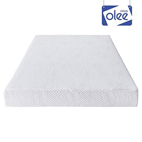 Olee Sleep 9 Inch I-Gel Multi Layered Memory Foam Matress 09FM01Q