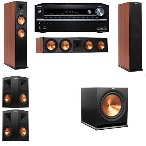Klipsch RP-250F Tower Speakers CH-5.1-Onkyo TX-NR838