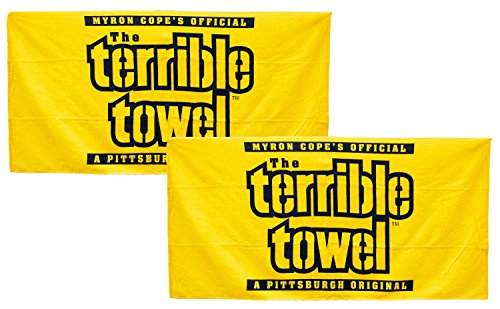 Pittsburgh Steelers Official Terrible Towels - Set of Two Yellow - NFL from SteelerMania