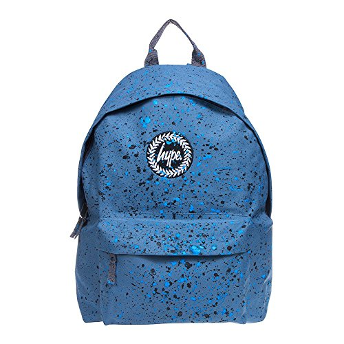 HYPE Speckle Paint Backpack Airforce Black/Blue School Bag - HYPE Bags