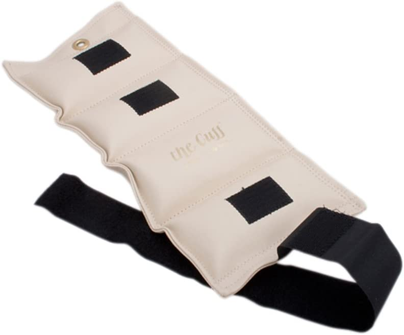 The Deluxe Cuff Ankle and Wrist Weight 9 lb Parchment