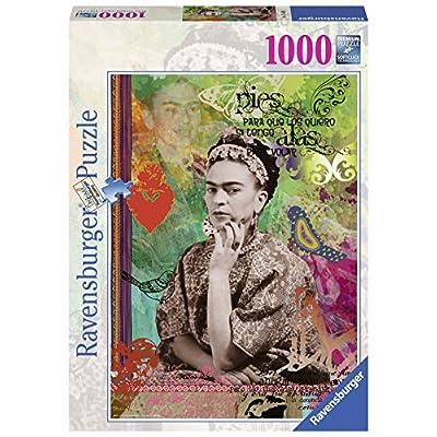 Ravensburger 15401 Frida Kahlo De River Puzzle Fantasy 1000 Pezzi
