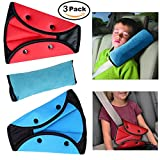 Seatbelt Adjuster and Seatbelt Pillow for Kids, Car Safety Belt Adjust for Baby, Kids, Child Safety Belt Protector Adjuster