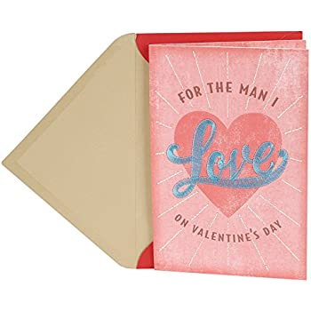 Amazon.com : Hallmark Signature Valentine\'s Day Greeting Card for ...