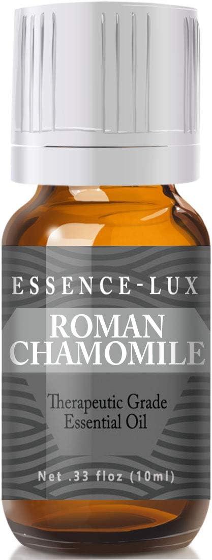 Roman Chamomile Essential Oil - Pure & Natural Therapeutic Grade Essential Oil
