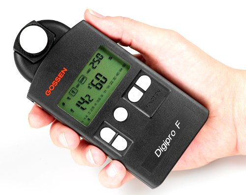 (Gossen Digipro F, Exposure Meter for Flash and Ambient Light with Swivel)