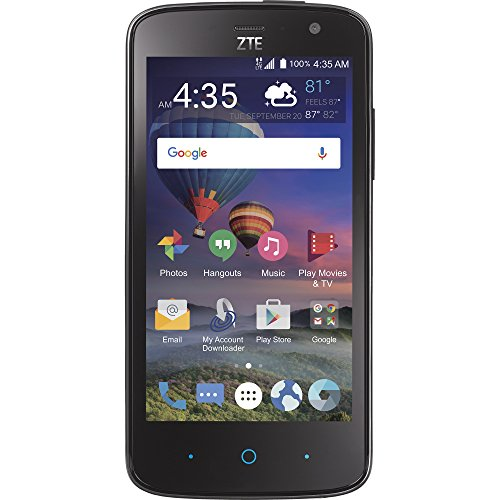 Total Wireless ZTE Majesty Pro 4G LTE Prepaid Smartphone by Total Wireless