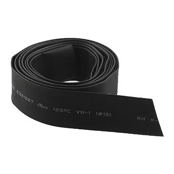 5 mm Durchmesser Schwarzer Schrumpfschlauch 3 M R SODIAL