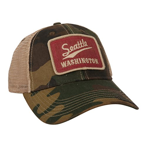Legacy Seattle Camo Patched Trucker Hat