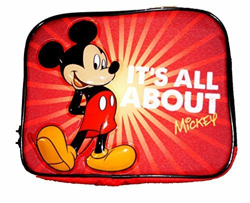 Collapsible Top Black Hat Adult (Disney Mickey Mouse Children's Collapsible Full Lunch Box - Red)