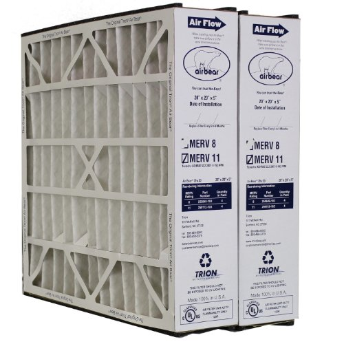 Trion Air Bear Filter 259112-103 MERV 11 (20x20x5