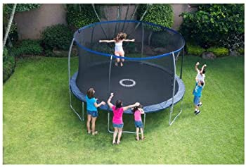 BouncePro 14' Trampoline & Electron Shooter Game