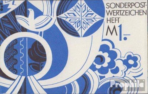 Prophila Collection DDR SMHD7ce (kompl.Ausg.) 1975 Posthorn/Taube (Briefmarken für Sammler)