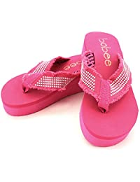 "Women's 2"" Platform Beach Thong Sandal Thick Strap Flip Flop"