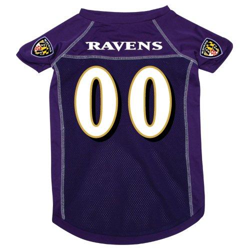 Hunter MFG Baltimore Ravens Dog Jersey, Large