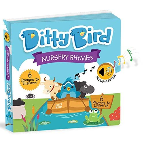 Ditty Bird Our Best Interactive Musical Nursery Rhymes Book For Babies Educational And Toddler