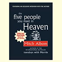 The Five People You Meet in Heaven Audiobook by Mitch Albom Narrated by Mitch Albom