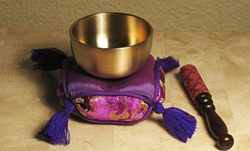 Meditation Accessory Japanese Rin Gong Singing Bowl Set 2.7