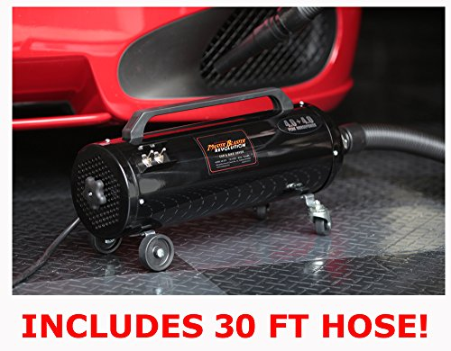 JUST INTRODUCED! Air Force Master Blaster Revolution with 30' Hose MB-3CDSWB-30 MB-3CD SWB-30 (Blaster Master Dryer Motorcycle)