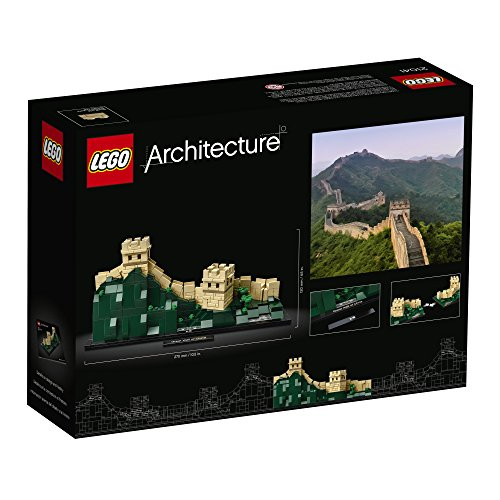 51 tP27njXL - LEGO Architecture Great Wall of China 21041 BuildingKit (551 Piece)