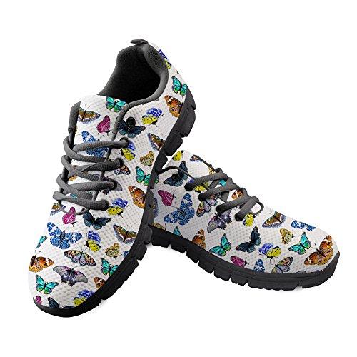 Y para CC328AQ Mujer B Hugs de Idea Running 7 Zapatillas Butterfly fyw5RR0gq