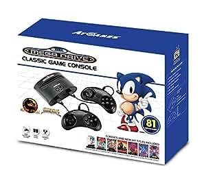 Sega Mega Drive - Consola Retro Wireless + 80 Juegos + Virtua Fighter 2 - Edición Sonic