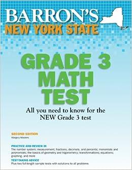 ?INSTALL? New York State Grade 3 Math Test, 2nd Edition (Barron's New York State Grade 3 Math Test). defiant around exigir message tarjetas