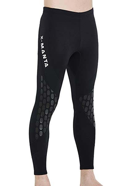 Men  Neoprene Warm Diving Wetsuit Pants Scuba Surfing Swimsuit Long Trousers