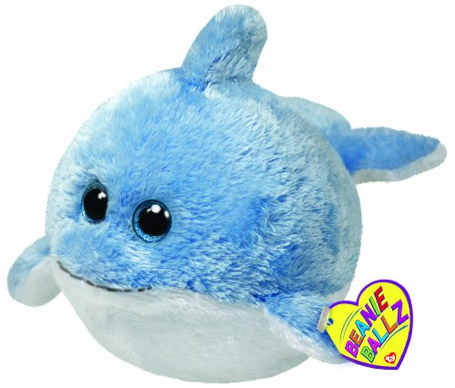 Ty - Peluche bola delfín, 15 cm (United Labels 38041TY): Amazon.es: Juguetes y juegos