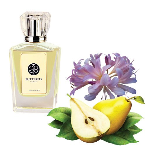 Thai Perfume, Cape Lily & Pear Scent (Eau De Parfum for Unisex with Original Thai Classic Style Scent, the Most Unique and Amazing) (60 ml.)