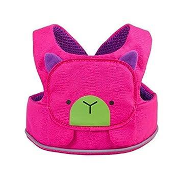 Trunki ToddlePak - Arnés infantil para caminar – Betsy Bear (Pink)