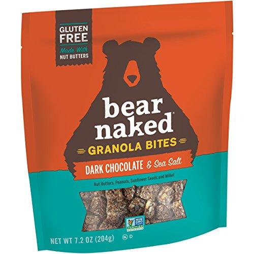 Bear Naked Dark Chocolate Sea Salt Bites, 7.2 Ounce