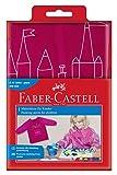 Faber-Castell 201204 - Malschürze für Kinder, Universalgröße, brombeer