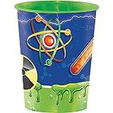 Creative Converting Plastic Keepsake Cups, Mad Scientist (12-Count)