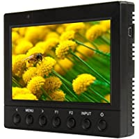 Ikan VK5-C 5.6 HDMI Monitor with Canon Battery Plate Black