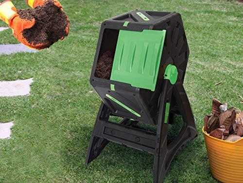 UPP Carga de compostador 70L | Roll de - Compostador | Composter | Interno ventilación | Seguro contra parásitos: Amazon.es: Jardín