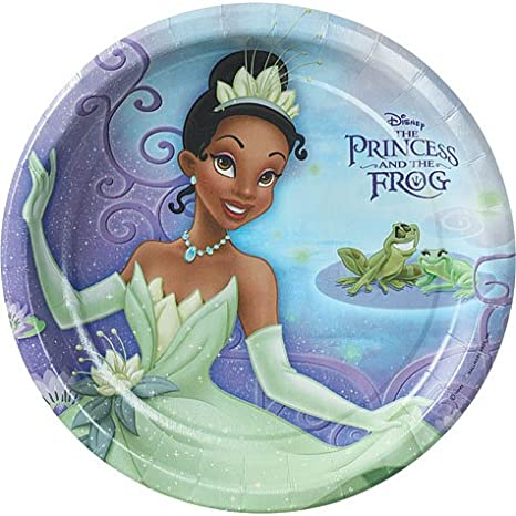 Princess and the Frog Large Paper Plates (8ct)  sc 1 st  Amazon.com & Amazon.com: Princess and the Frog Large Paper Plates (8ct): Toys \u0026 Games