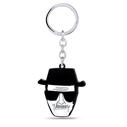TUDUDU Llave De Coche Rompiendo Bad Key Holder Walter White ...