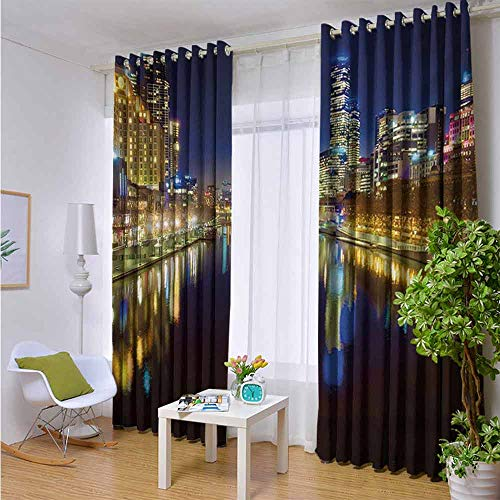 LiHomecurtain Easy Care Privacy Protection Grommet Window Panels 84