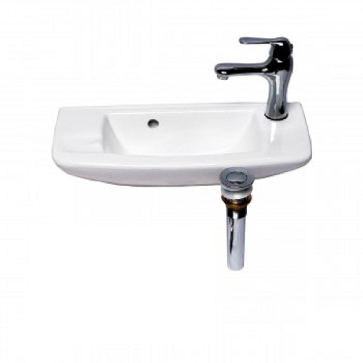 Renovator S Supply Small Wall Mount Bathroom Vessel Sink White 20