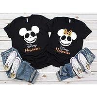 Disney Halloween Jack Skellington Nightmare Before Christmas Mickey Minnie Ears Family Matching Vacation Shirts Tees Tops Men Women Kids