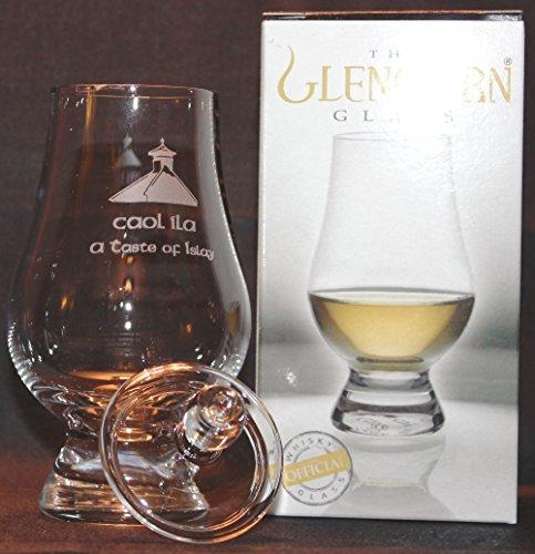 CAOL ILA PAGODA TOP GLENCAIRN SINGLE MALT SCOTCH WHISKY TASTING GLASS WITH GINGER JAR TOP